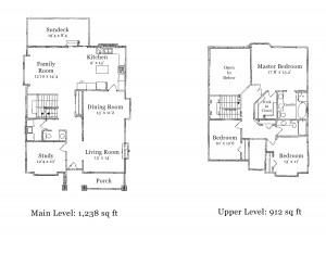 508 April Road - Floorplans