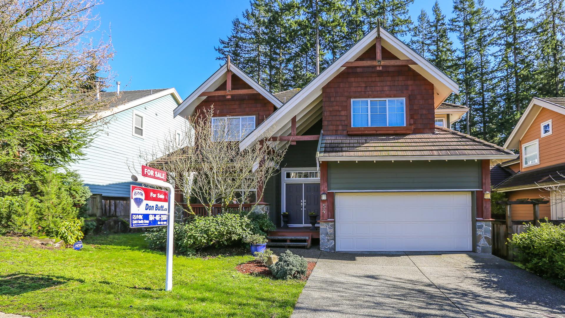54 Ashwood Drive, Port Moody - Front